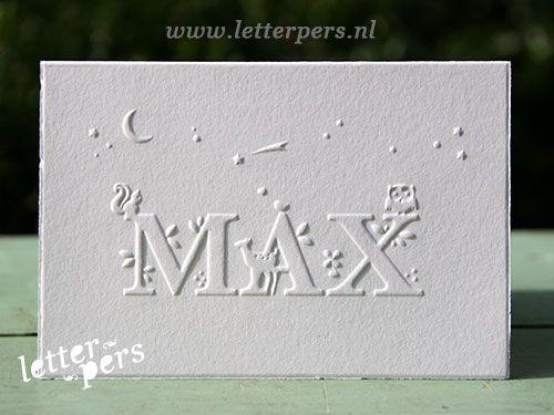 letterpers_letterpress_geboortekaartje_max_wit_preeg_uil_sterren