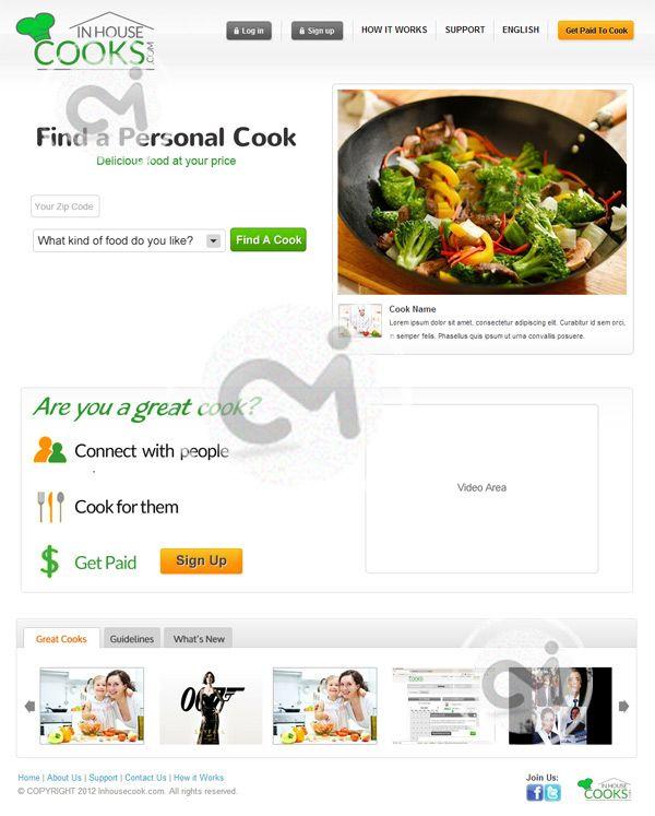 We designed & developed a website using Ruby on Rails ...