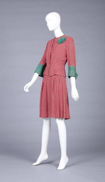 ~Dress    1942~    The Goldstein Museum of Design