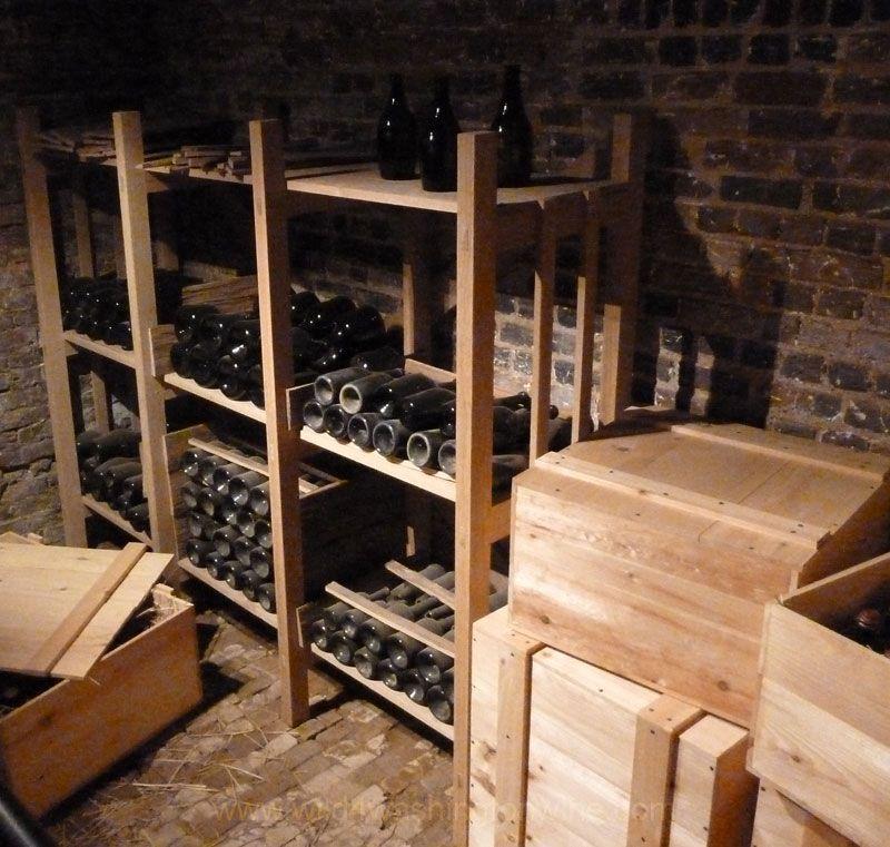 Monticello, Thomas Jefferson's wine cellar restored. Virginia Wine Country.