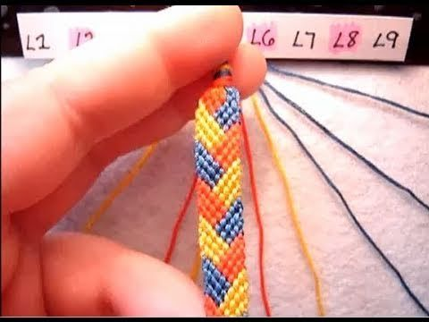 Braided Pattern Friendship Bracelets