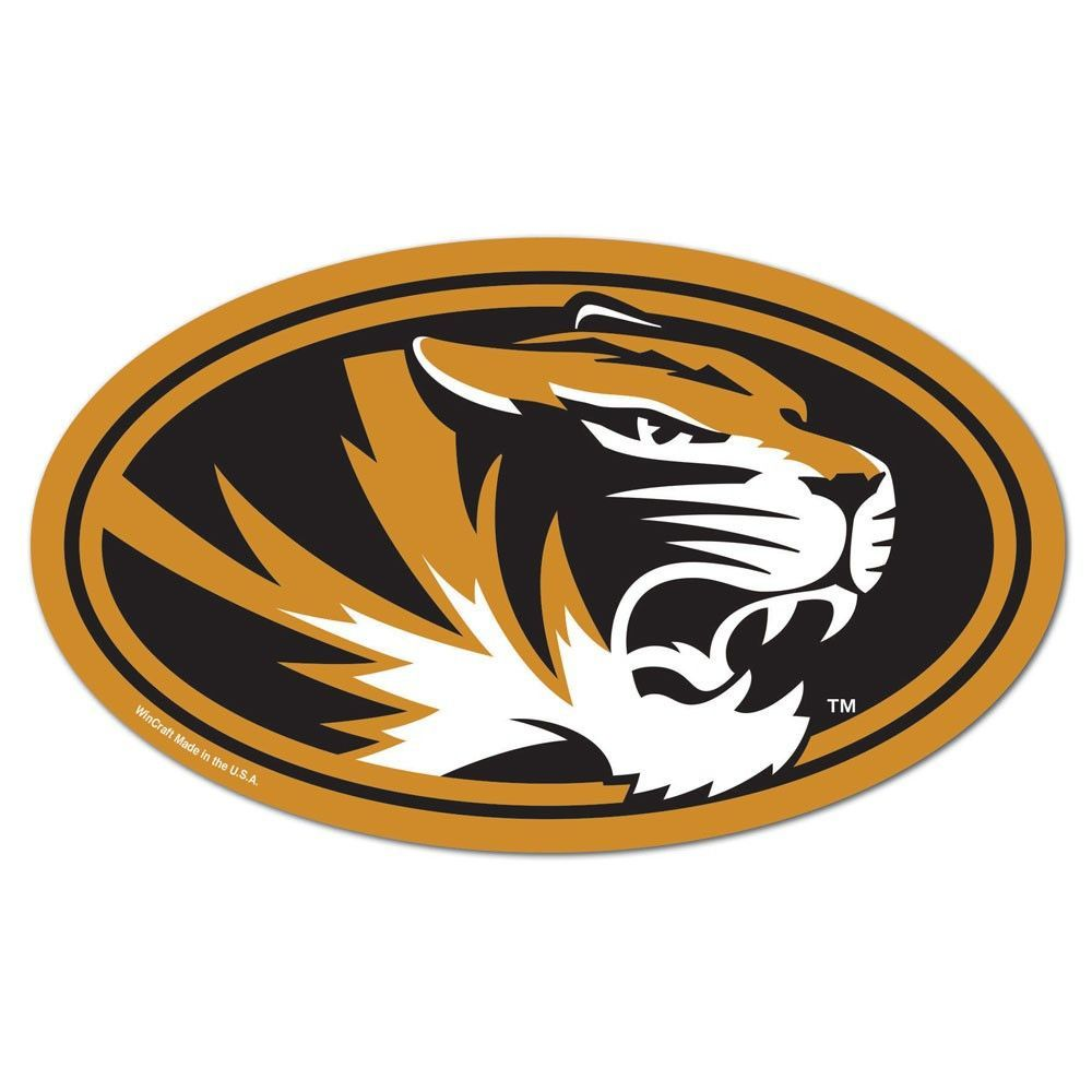 Missouri Tigers NCAA Automotive Grille Logo on the GOGO