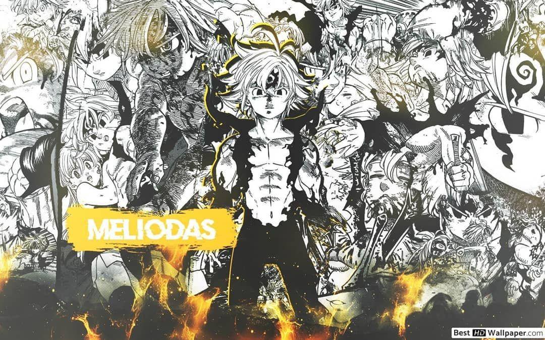 He Is The King Nanatsutazai Sevendeadlysins Meliodas Ban Anime Manga El In 2020 Seven Deadly Sins Anime Desktop Wallpaper 1920x1080