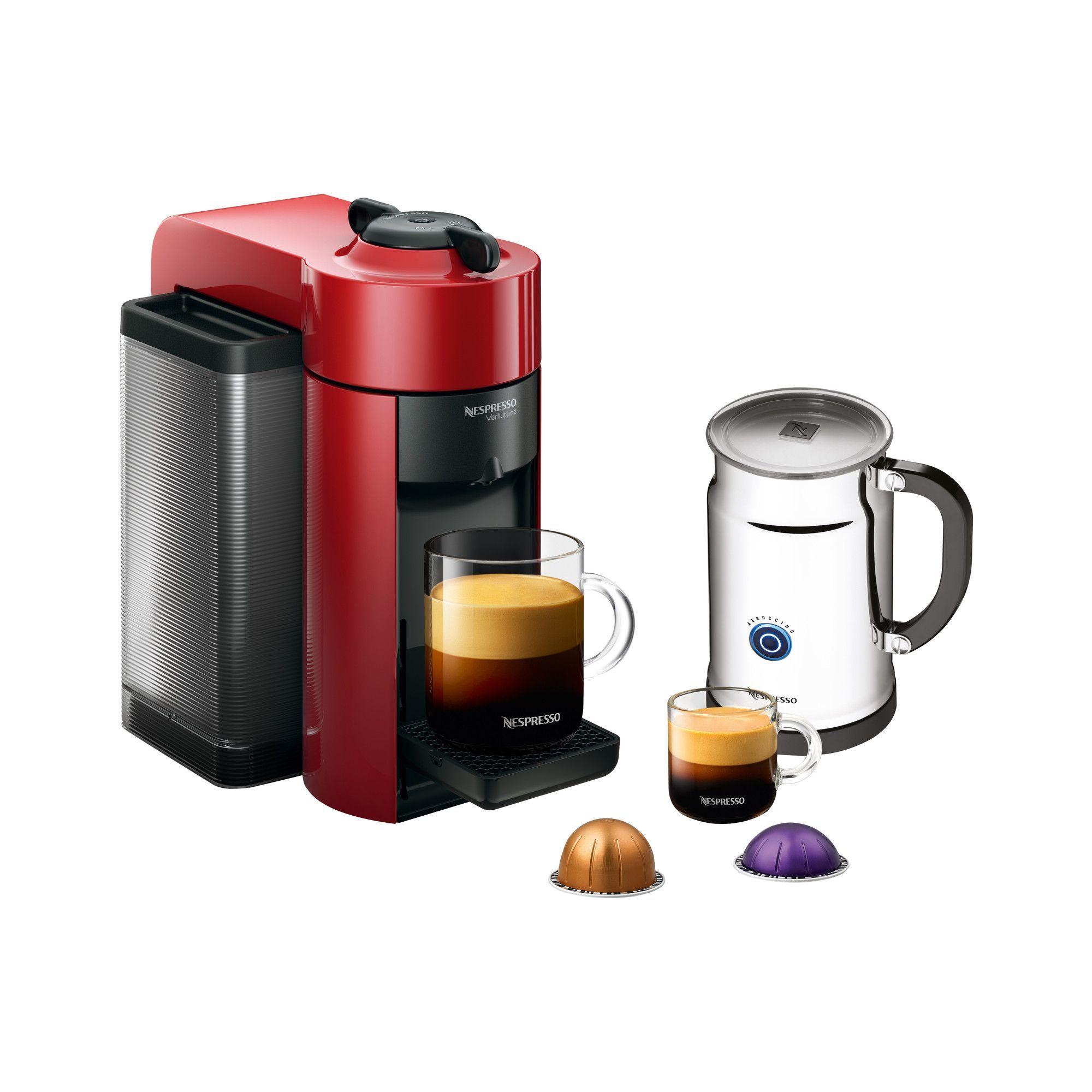 Evoluo Aerocinno Espresso Maker with Aeroccino Plus Milk
