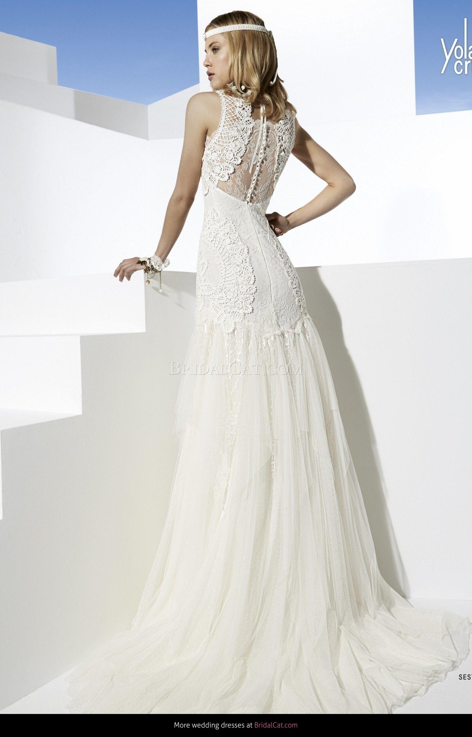 YolanCris - Sestao - Boho Girl | Wedding Dress | Pinterest ...