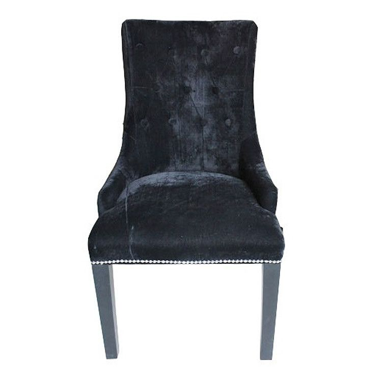 One Sale Now Lion Handle Back Dining Chair Black Allissias