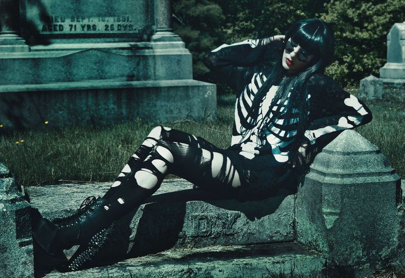 Killstar's Witches Be Trippin Catalog Boasts Edgy Occult Fashions #fashion trendhunter.com