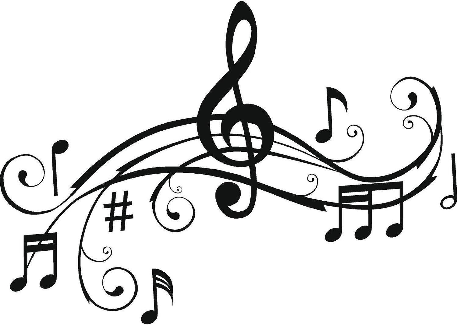 Printable Music Notes Music Notes Wall Art Word Wall Art Music Notes [ 1067 x 1500 Pixel ]