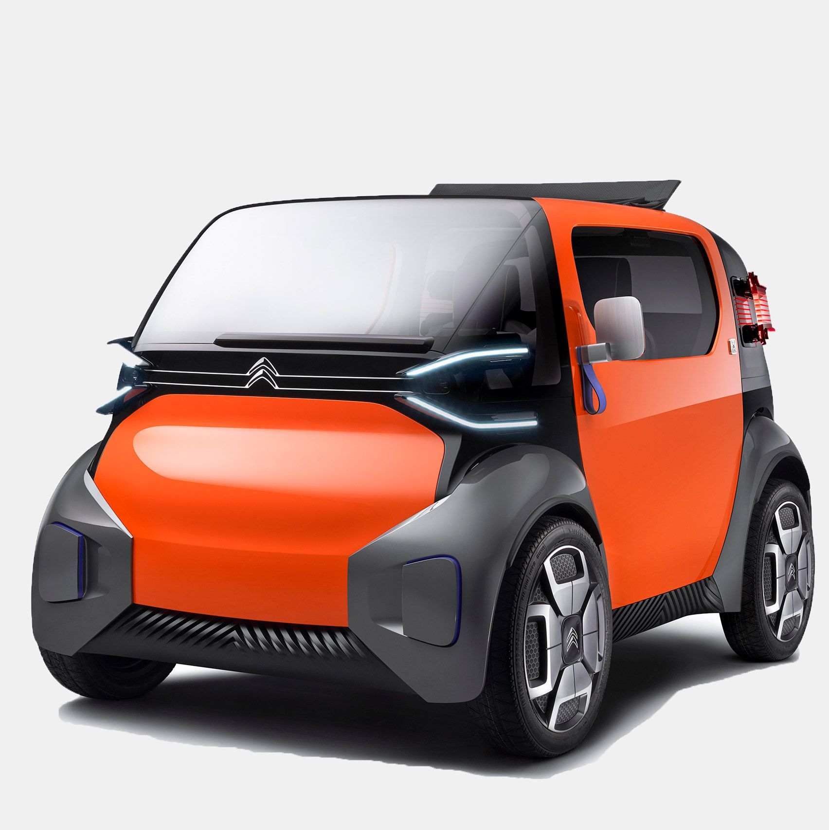 Citroën Designs Ultra-compact Concept Car For Unlicenced
