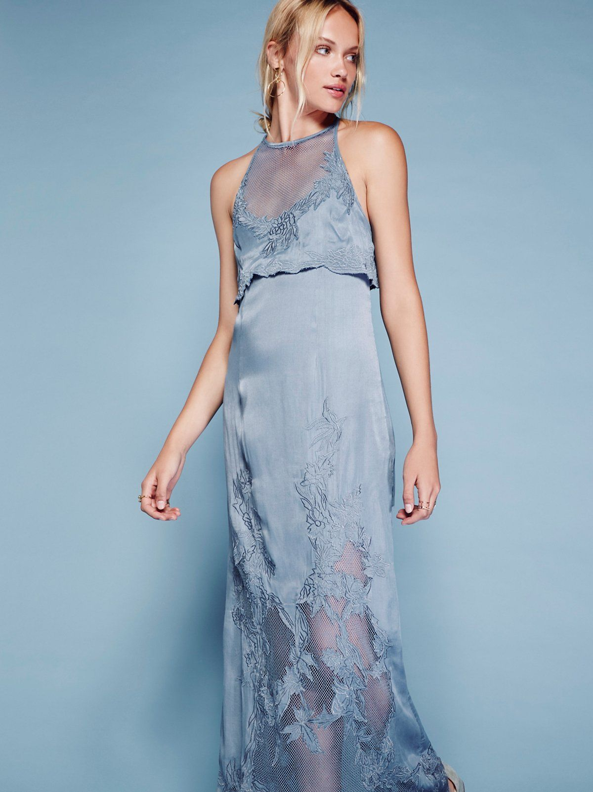 4ef4b3a5eb5c Moonchild Embroidered Maxi Dress