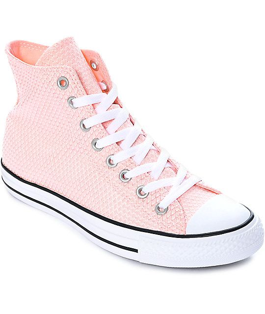 Converse Chuck Taylor All Star Vapor Pink & White Shoes