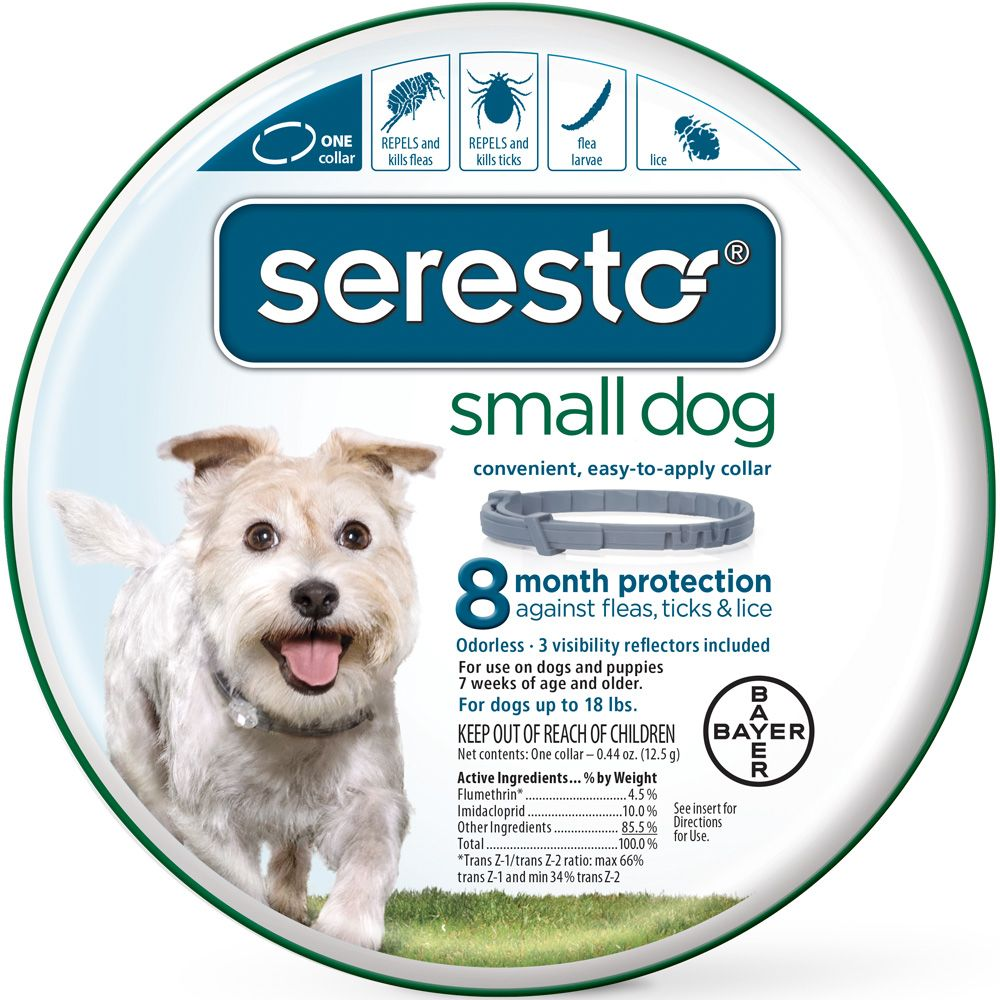 The Seresto Flea Collars provide 8 months of continuous