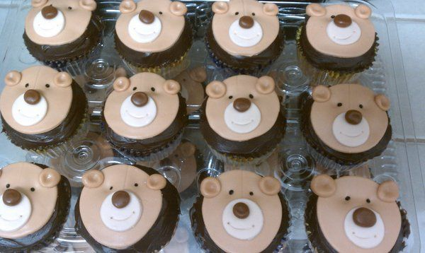 bear cupcakes - Google Search