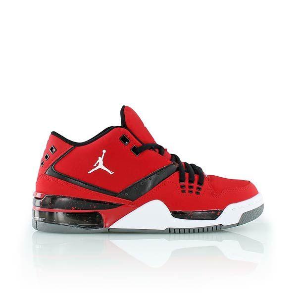 JORDAN FLIGHT 23 BG BG 23 GYM RED/WHITE BLACK COOL GREY Chaussure s for me 354a7b