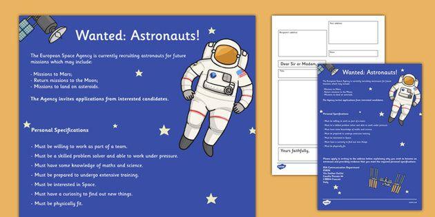 Astronaut Skill Packet 11 (Preschool Digital Workbooks)