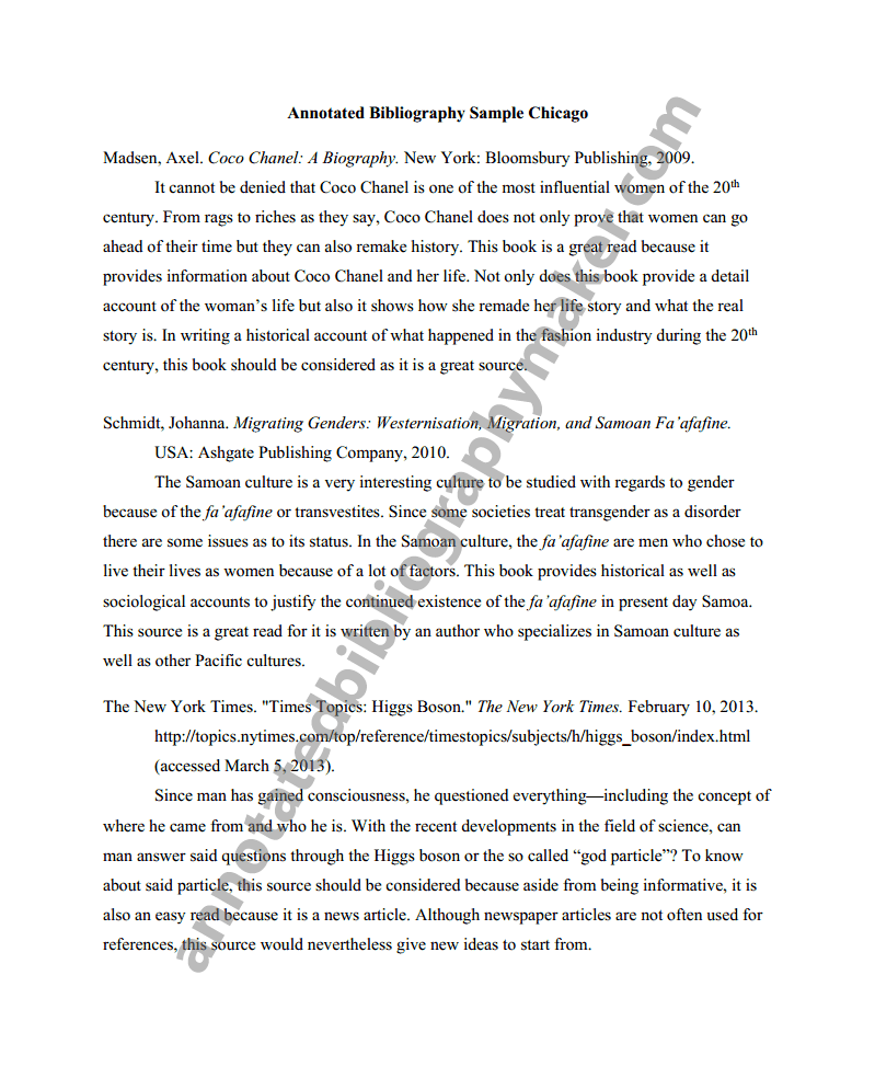 Annotated Bibliography Mla What Is An Annotated Bibliography An