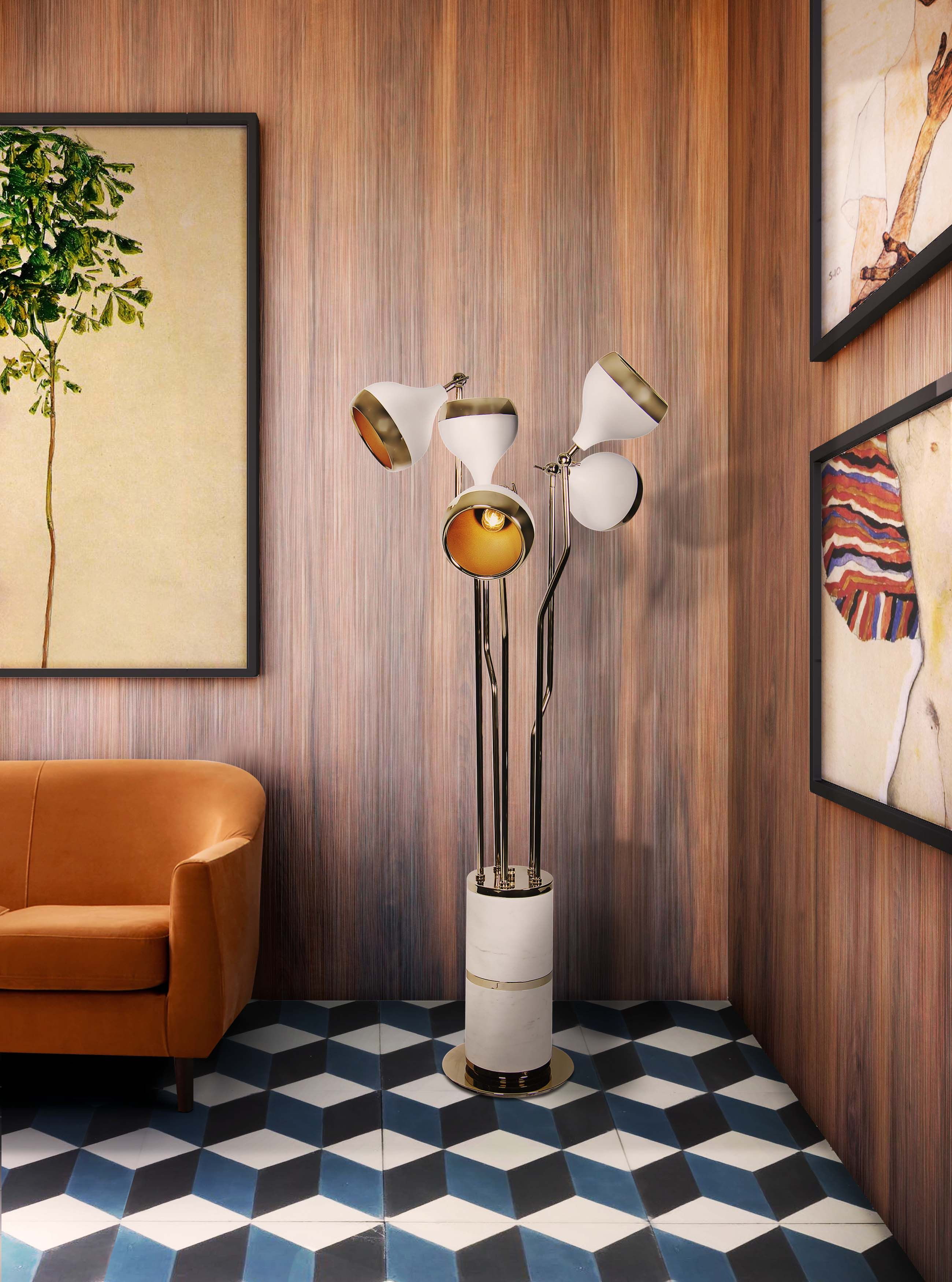 5 Retro Floor Lamps To Make Your Home As Glamourous As You Met Afbeeldingen Midcentury Modern Lampen Hotel Decor