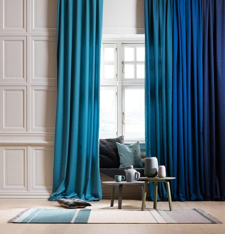 Vorhänge für das Wohnzimmer - 21 schöne Ideen Desing-Interieur