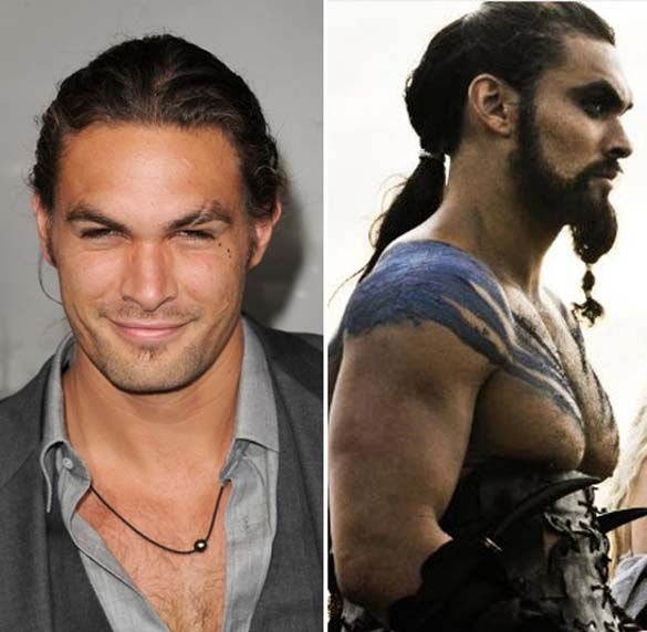 Khal Drogo in real life...ok now it makes sense.   Nerd ...