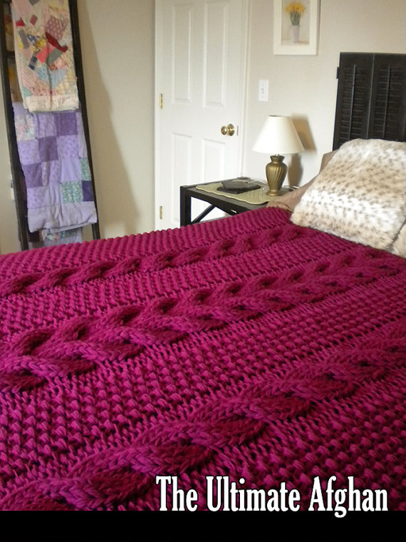 The Ultimate Afghan Knitting Pattern With Images Knitted Afghans