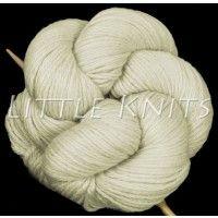 Little Knits Aslan Trends Royal Alpaca - White (Color #1)
