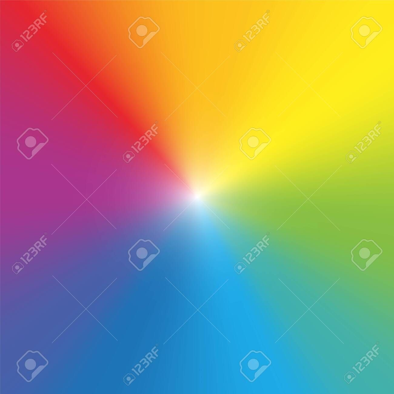 Rainbow Color Background Wallpaper Gradient Spectral Colored Rays