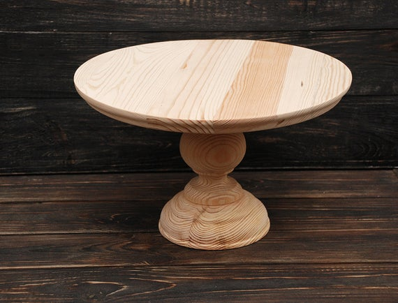 6 7 8 9 10 11 12 Etsy Wooden Cake Stands Rustic Cake Stands Wooden Wedding Cake Stand