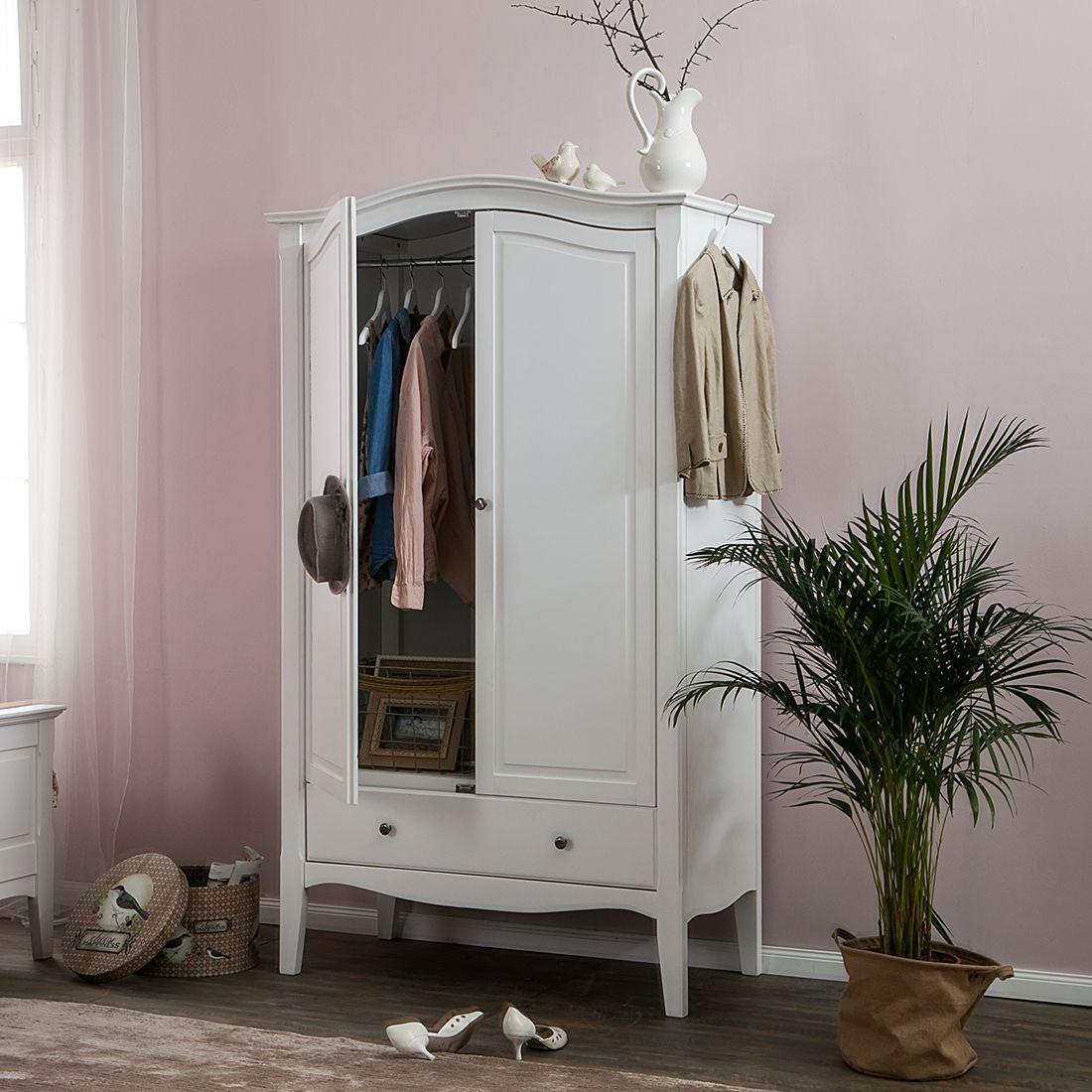 Kleiderschrank Giselle - Weiß   Möbel   Pinterest ...