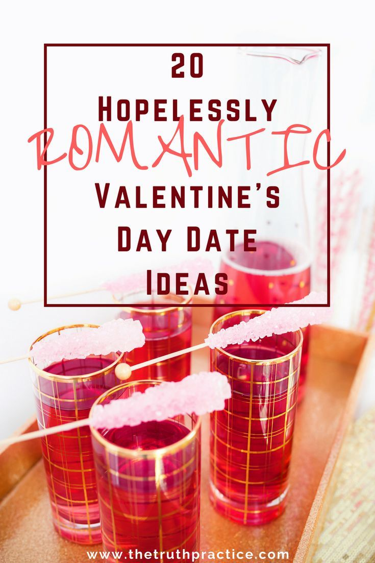 20 romantic valentines day date ideas