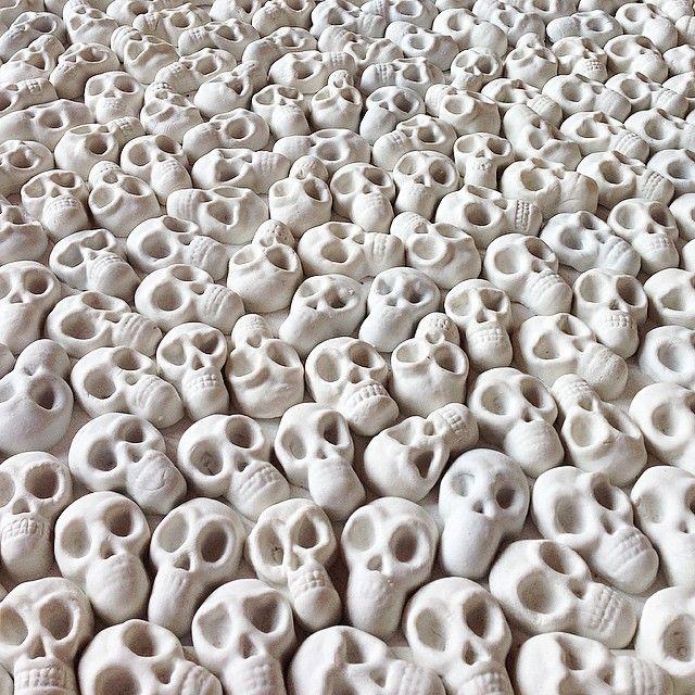 Skull Carpet By Nino Sarabutra - Google Search