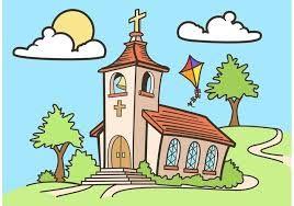 Resultado De Imagen Para Dibujos De Iglesias A Color Iglesia Dibujo Dibujos Iglesia