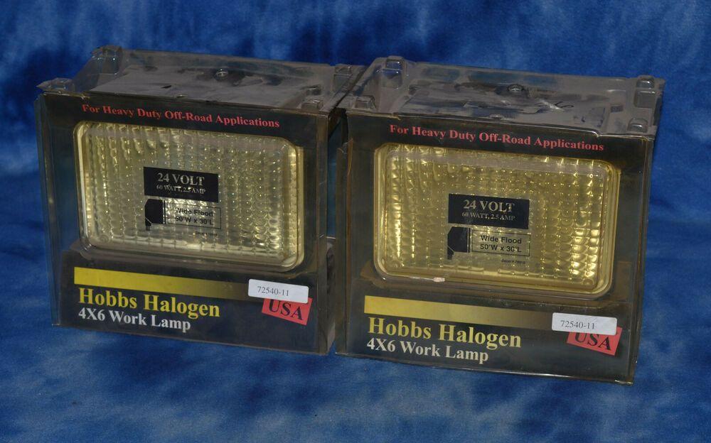 Stewart Warner Hobbs Replacement Bulb 4 X 6 72540 11 Lot Of Two 24 Volt Stewartwarner Hobbs Bulb Barbuda