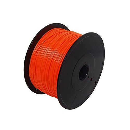 THG Orange 3D Printer Filament 1KG 362M PLA Material (1.75mm) Suitable for Makerbot Series Printers - http://discounted-3d-printer-store.co.uk/product/thg-orange-3d-printer-filament-1kg-362m-pla-material-1-75mm-suitable-for-makerbot-series-printers/