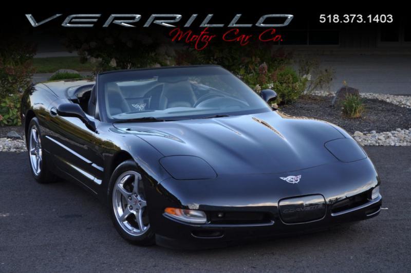 Triple Black Convertible 6sp Manual Corvette Convertible Corvette C5 Corvette For Sale
