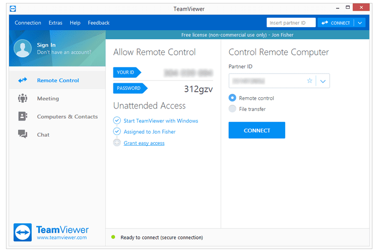 14 Free Programs For Remotely Accessing Your Pc Remote Remote Control Software Web Conferencing
