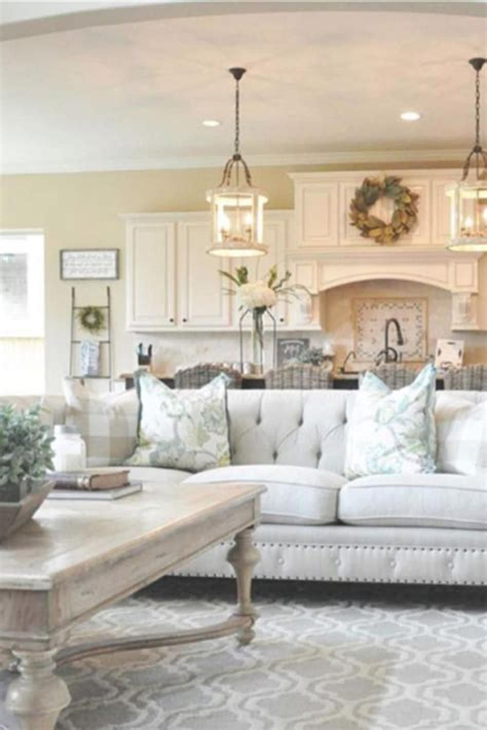 30 Best Shabby Chic Farmhouse Living Room Decor Ideas 2019 Craft Home Ideas Country Living Room Farm House Living Room French Country Living Room
