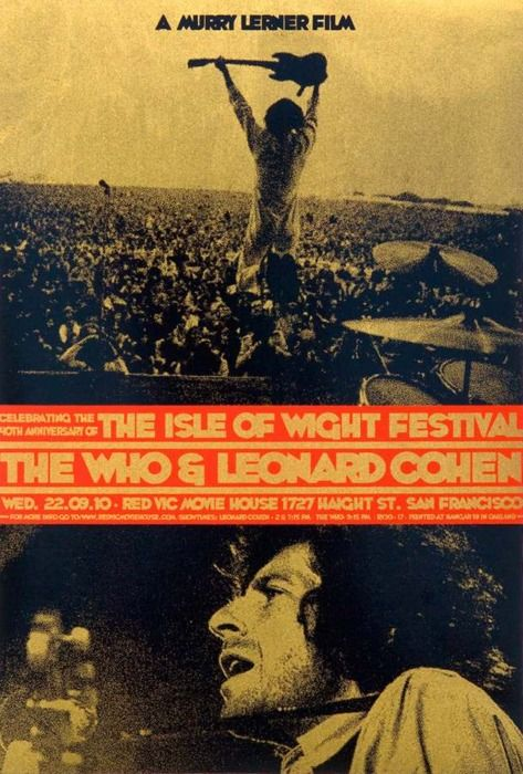 isle of wight festival vintage concert