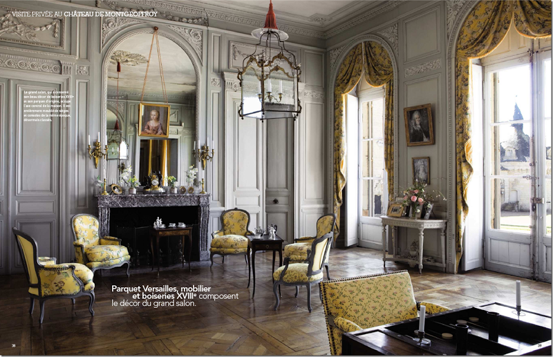 18th Century Room French Chateau Interiors Chateaux Interiors Classic Home Decor