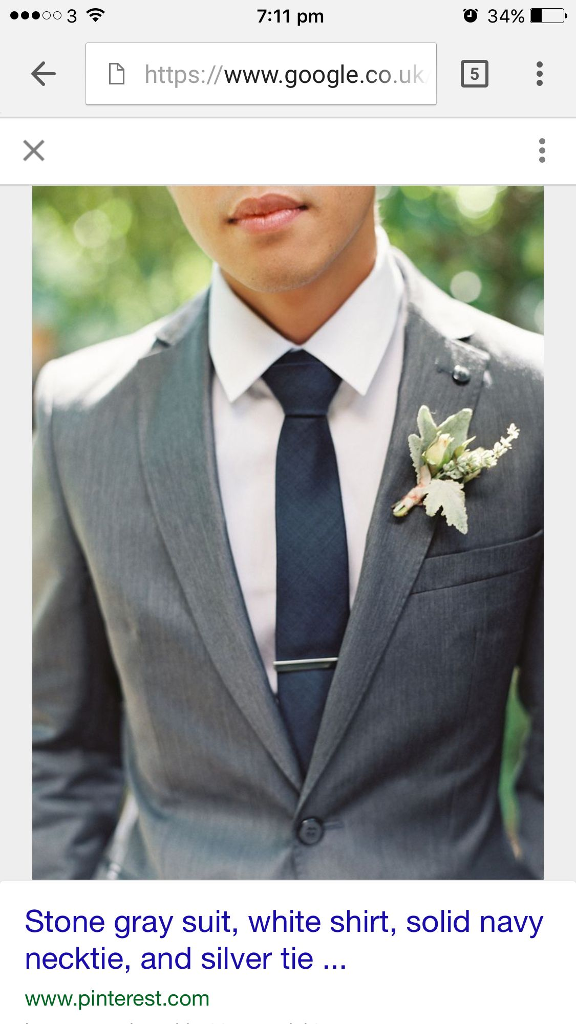 797d853382d2 Grey suit navy tie groomsmen   Ties   Groomsmen suits, Groom attire ...