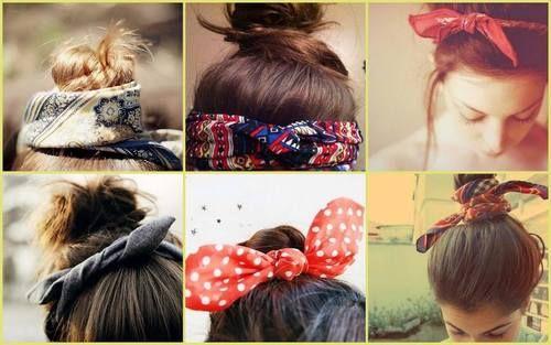 6 coiffures simples à réaliser avec un foulard