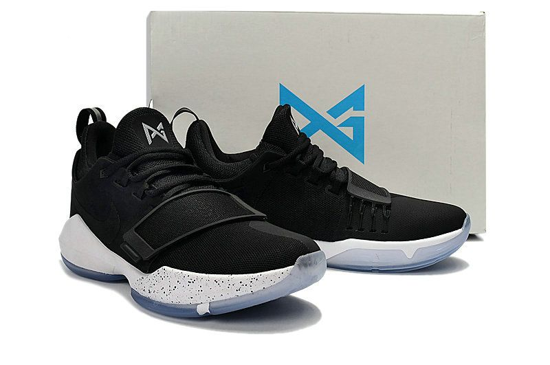 newest collection ad384 c0d4e 2018 Popular Young Big Boys Nike PG 1 Black White Oreo 2018 New Arrival