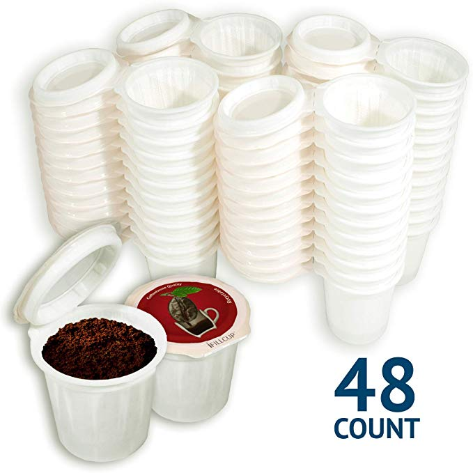 Amazon Com Ifillcup Fill Your Own Single Serve Pods Red Lid 100 Recyclable Pods For Use In All K Cup Brewer In 2020 Fresh Roasted Coffee Keurig Fresh Ground Coffee