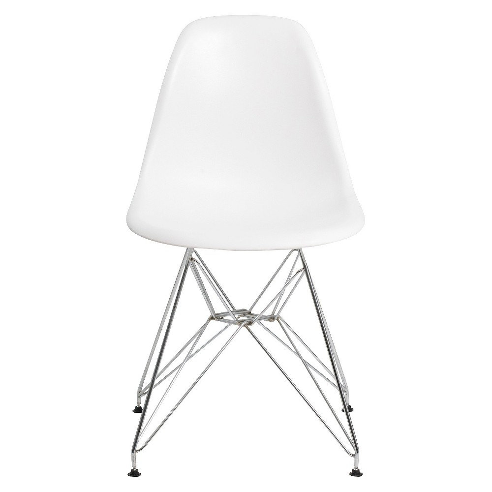 Small kitchen table and 2 chairs  Aeon Paris Molded Plastic Chair  White Set of   Products