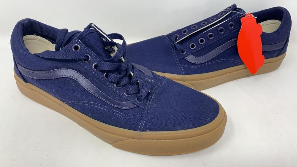 12cb187e9d Vans Old Skool Midnight Navy Gum Athletic Skate Men s sz 8.5 Women s sz 10  New  fashion  clothing  shoes  accessories  mensshoes  athleticshoes (ebay  link)