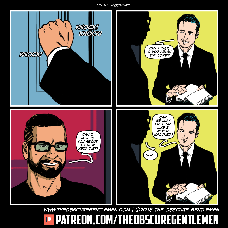 In the Doorway Comics, Just pretend, Fictional characters