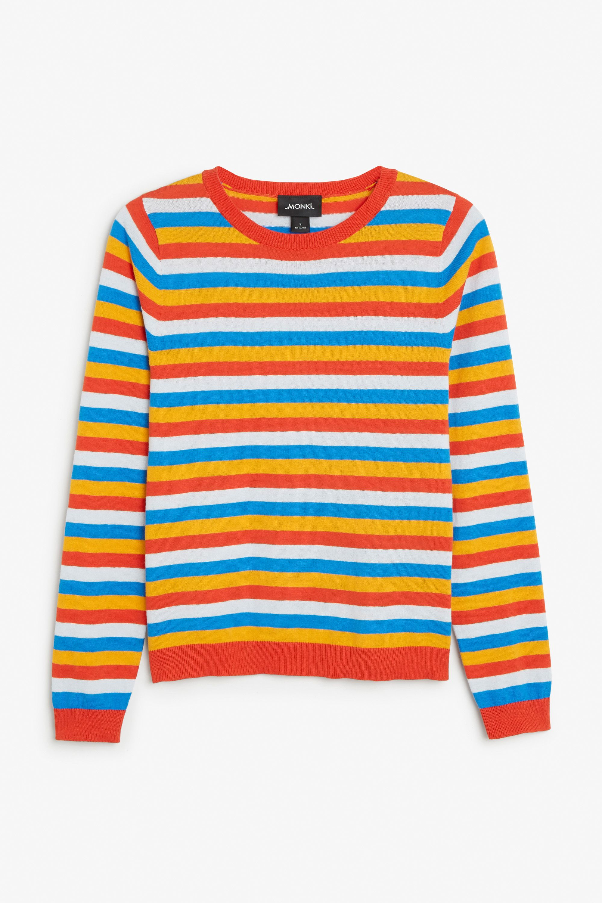 Monki Image 1 of Fine knit sweater in Black | Clothing | Pinterest ...