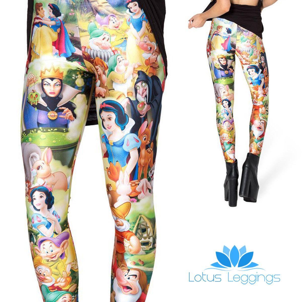 Fairest Of Them All Leggings Lotus Leggings Fashion And Beauty