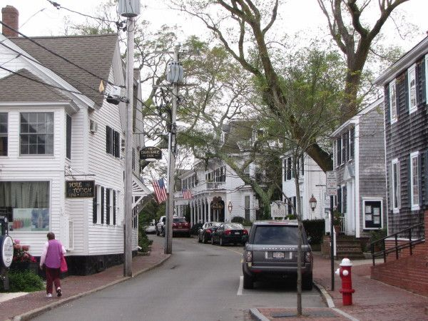 This Is Water Street One Of The Main Streets Of Edgartown