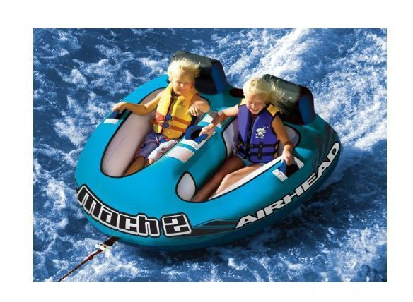 Towable Tube Rider 2 Person Boat Jet Ski Inflatable