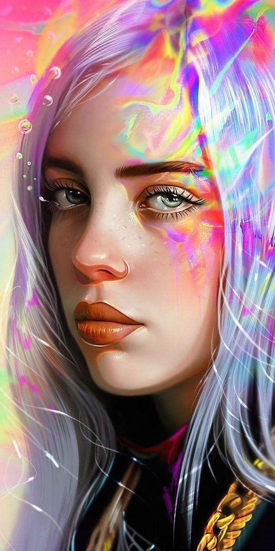 1080×2160 Fanart, singer, celebrity, Billie Eilish wallpaper